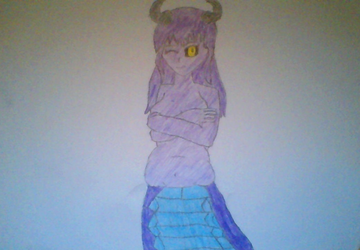 Lamia by NuclearStardustCell