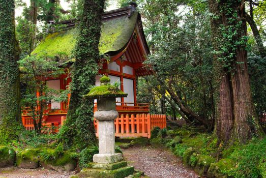 Shrines : Temple Building 03 by taeliac-stock