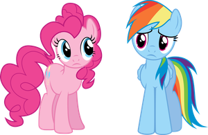Pinkie and Rainbow are confused (S04E26) by DJDavid98