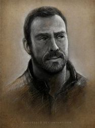 Lost in Space - John Robinson (Toby Stephens) by MeduZZa13