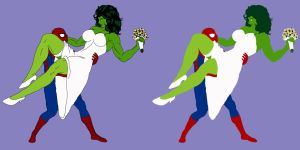 Spidey and Shulkie: Happily Ever After - Flats by OrionPax09