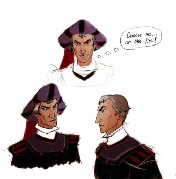 Claude Frollo by Lucius007