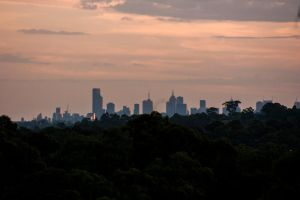 Melbourne at Dusk by TomHorton100
