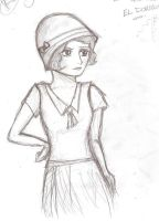 'I suppose I am a flapper.' by Willowwolf23