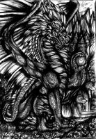 of wolf and dragon by emeraldnephilim8