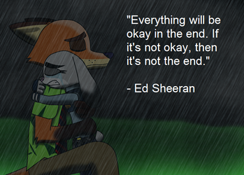'It's not the end.' by TomsterTheSecond
