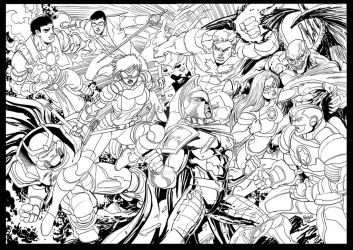 Before I color this BATTLE by gammaknight