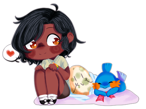 .:[PD] Lorry, mudkip and egg n2 :. by luz110