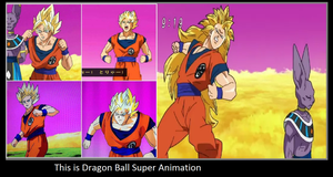 This is Dragon Ball Super Animation by KeybladeMagicDan