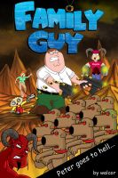 Peter Goes to hell by walcor