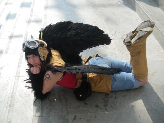 Like a bird? - Cooro Cosplay by ChaosTheDawn