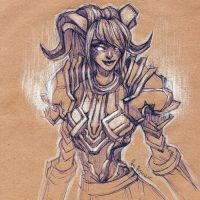WoW: Vindicator Yrel by ryumo