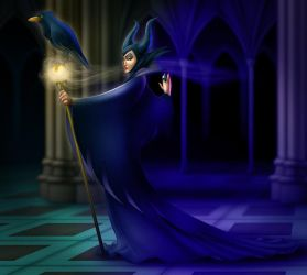 Maleficent by KingOlie