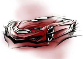 Mercedes Concept by mickeyd1o1