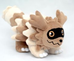 Zigzagoon Plush by Draxorr