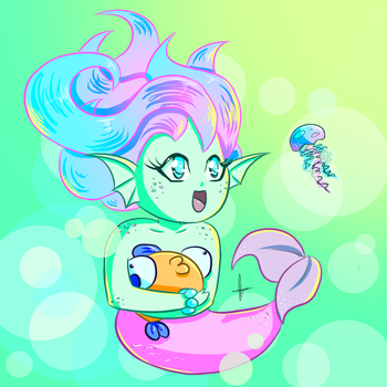 MerMay Doodle - Chibi by BaGgY666