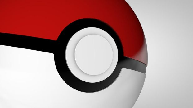 Pokeball close up by The3DLeopard
