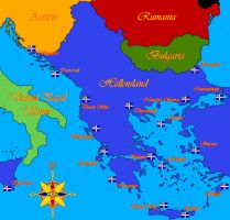 Hellenic Imperial Naval Bases (Central Homeland) by AdmiralMichalis