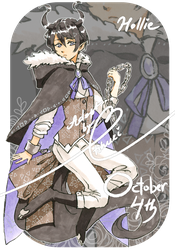 [Auction adoptable] October 4th [CLOSED] by tshuki