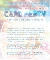 CARD PARTY - English Release on Sep. 29. 2014 by Nedliv