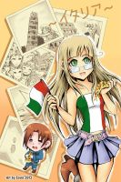 AT: I love Italy for TenmaKiller by Eo--Eovin