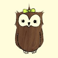 Baby Owl by whoslepe