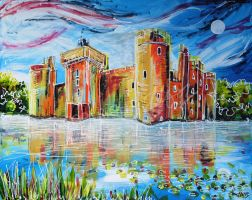 Bodiam by LauraHolArt