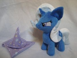 The Great Powerful Trixie filly plush w/cutie mark by PlanetPlush