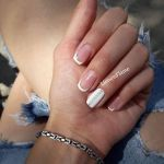 French manicure by LionessFlame