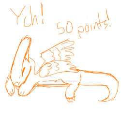 50 Point Chibi Beblune YCH! {3/4 OPEN} by XSilentStatic