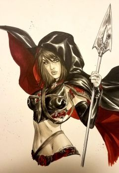 eBas Copic marker of the Magdalena  by ebas