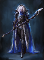 mage concept by Llyncis