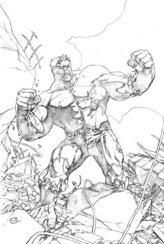 HULK made mess by stevescott
