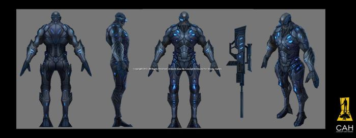 Sniper 3D Model by Concept-Art-House
