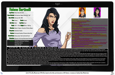[Earth-27: Oracle Files] Helena Bertinelli (1/4) by Roysovitch