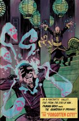 Five Ghosts #3 Cover by Mooneyham