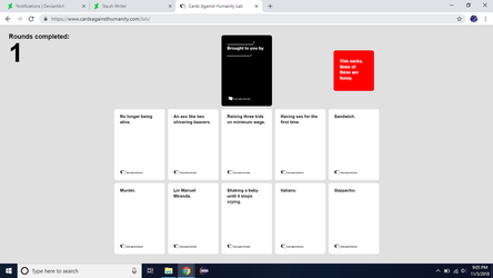 Cards Against Humanity (2) by AutobotHoneflash