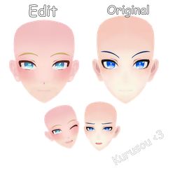 | DL TDA-Male Edit face | by Kurusou