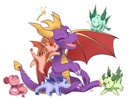 Baby Dragons! by erkythehero23