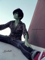Adventure Time Cosplay: Marshall Lee 03 by LadyNoa