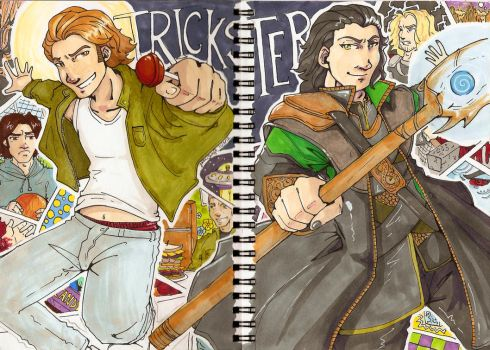 Trickster tag team by yamiswift