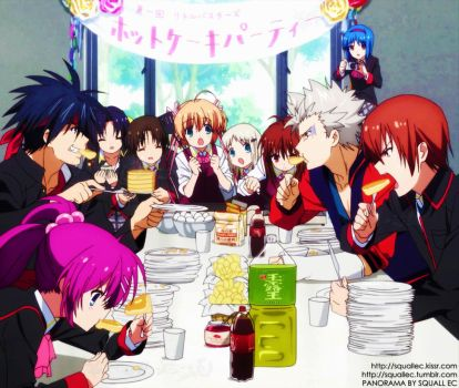 The Little Busters Party by SquallEC