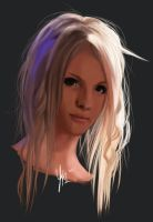 First portrait of Yohio by ShoutaDisphorix