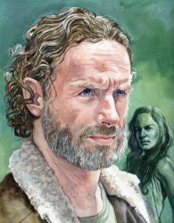Rick Grimes by marksatchwillart