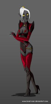 Lithia, assasin suit by Bred-Niar