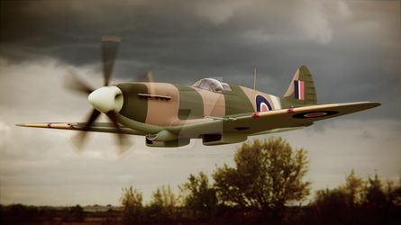 Spitfire Mk.XIVc by Davros-the-2nd