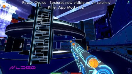 Power Oculus - Textures on all columns are visible by redrain85