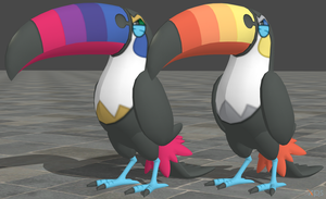 XPS Pokemon Sun and Moon Toucannon
