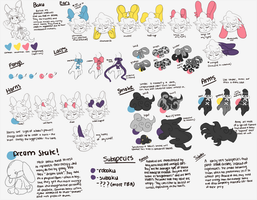 BAKU [species reference- more info added] by onioned