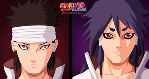 Naruto 670 - Indra And Ashura by KhalilXPirates